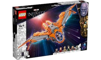 LEGO® Konstruktionsspielsteine »Das Schiff der Wächter (76193), Marvel Avengers Movie... kaufen