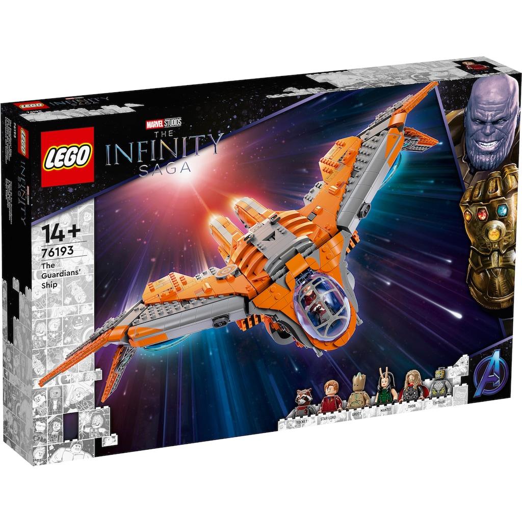 LEGO® Konstruktionsspielsteine »Das Schiff der Wächter (76193), Marvel Avengers Movie 4«, (1901 St.)