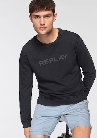Replay Sweatshirt, mit Markenprint vorne kaufen