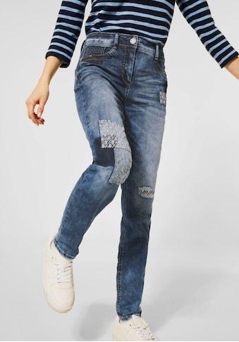 Cecil High-waist-Jeans »Style Toronto«, mit vielen Ziernähten kaufen