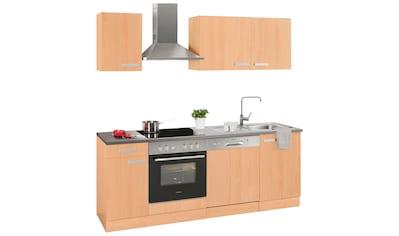 OPTIFIT Küchenzeile »Odense«, Breite 210 cm, inklusive Hanseatic - Elektrogeräten kaufen