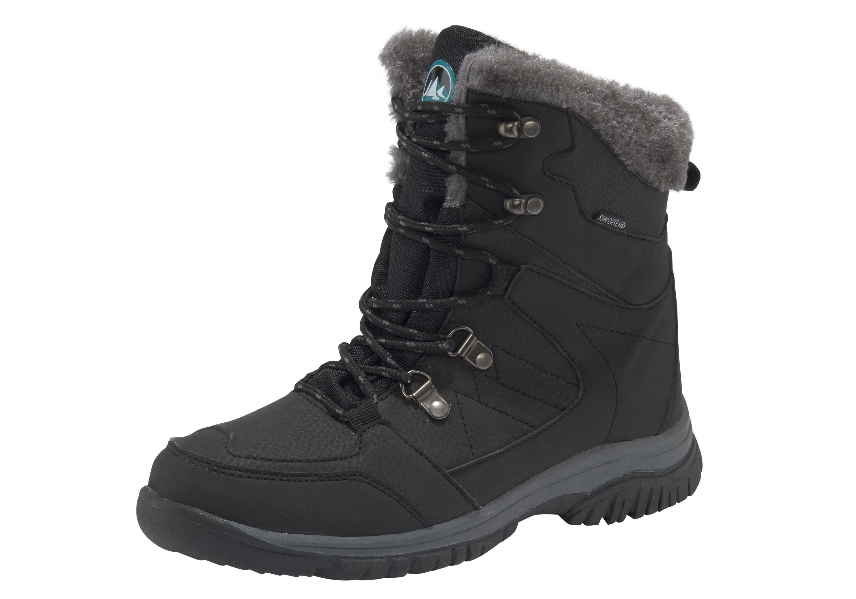 Polarino Outdoorwinterstiefel Ice Floe   Schuhe > Outdoorschuhe > Outdoorwinterstiefel   Schwarz   Polarino