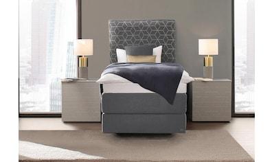 Villeroy & Boch Boxspringbett »LAILA CARRÉ Modell 2020«, Einzelbett mit Kopfteil Curve... kaufen