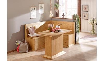 Home Affaire Eckbankgruppe »Sara« Bestehend Aus Eckbank Und Tisch In 2  Größen Kaufen