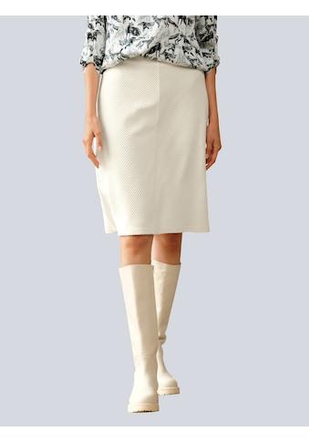 Alba Moda Cordrock, in softer Feincordqualität kaufen