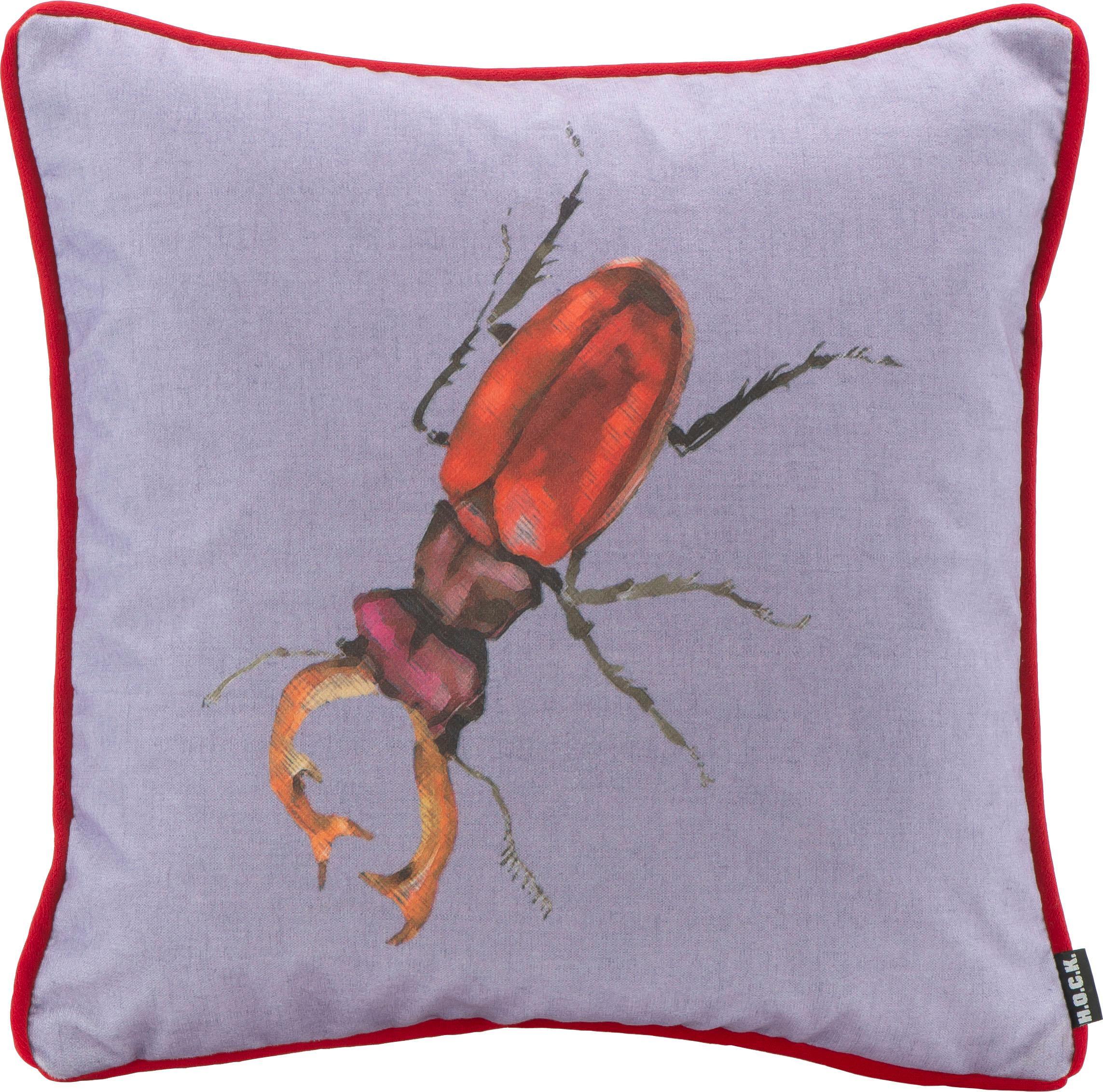 Hock Kissen Bugs Hirschkäfer 45/45 cm