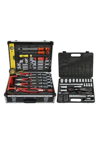 FAMEX Werkzeugkoffer »744 FX - 48«, 159 - tlg. Set, inkl. 76 - tlg. Steckschlüsselsatz kaufen
