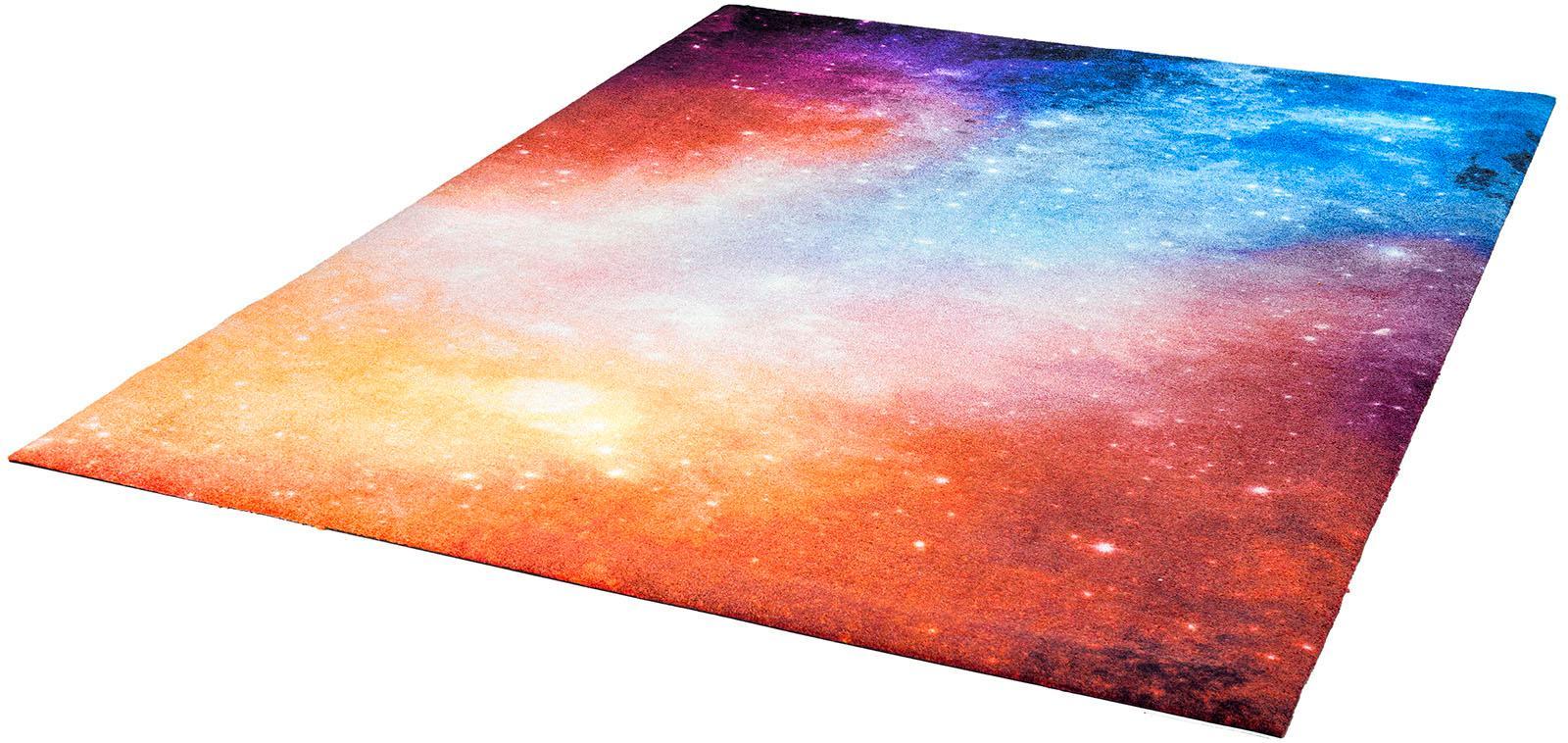 Teppich Sparkling Shine wash+dry by Kleen-Tex rechteckig Höhe 9 mm gedruckt