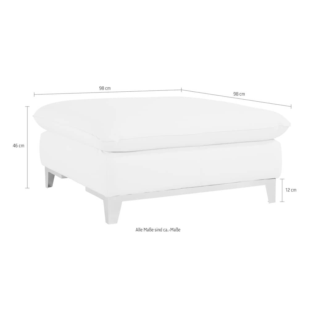 COTTA Polstergarnitur, (Set), Set: bestehend aus 2-Sitzer und Hocker, frei im Raum stellbar