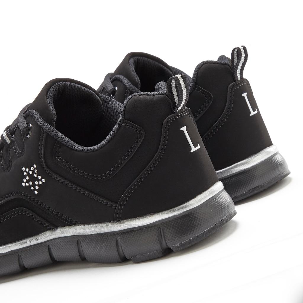 LASCANA Sneaker, mit kleinem Strass-Stein