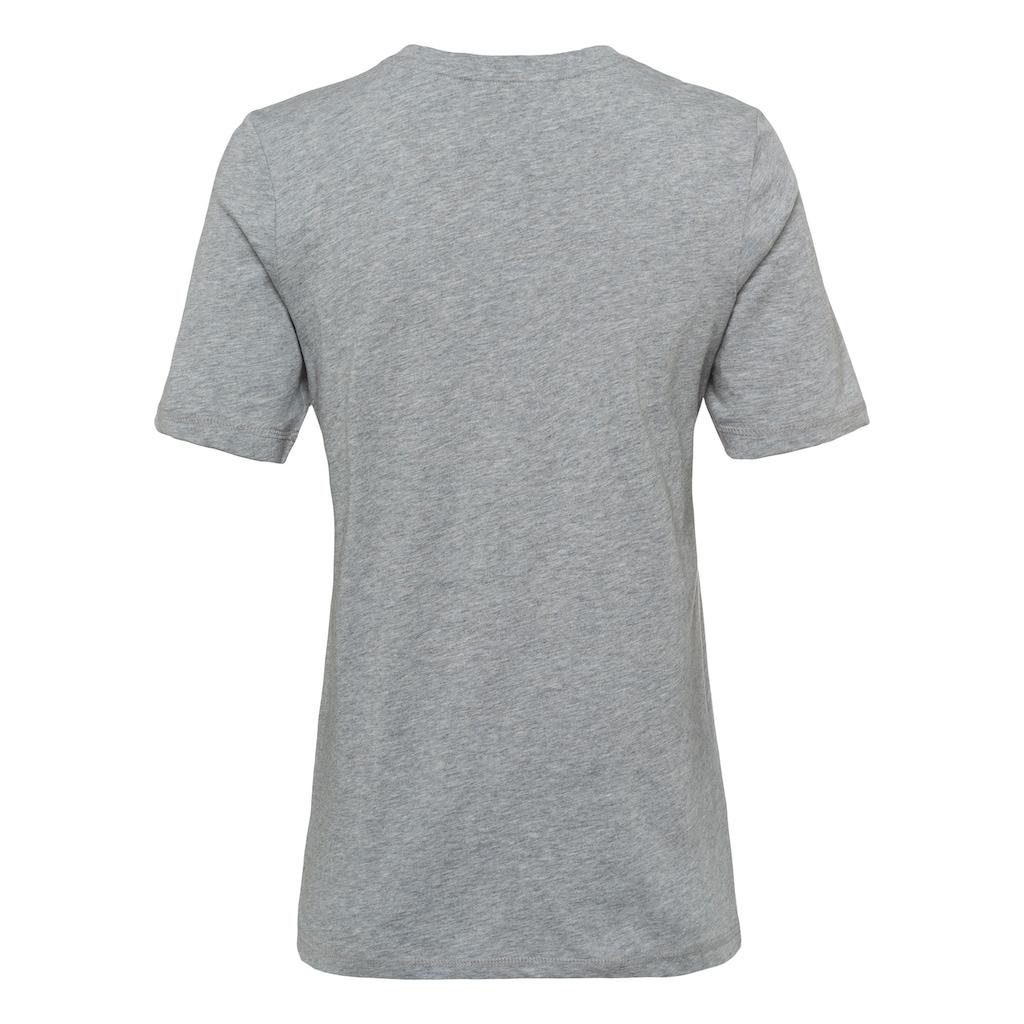 TOMMY HILFIGER T-Shirt, mit Labelflag und Logostickerei