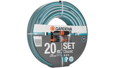 """GARDENA Gartenschlauch »Classic, 18008 - 20«, 13 mm (1/2""""), 20 Meter, mit Systemteilen kaufen"""
