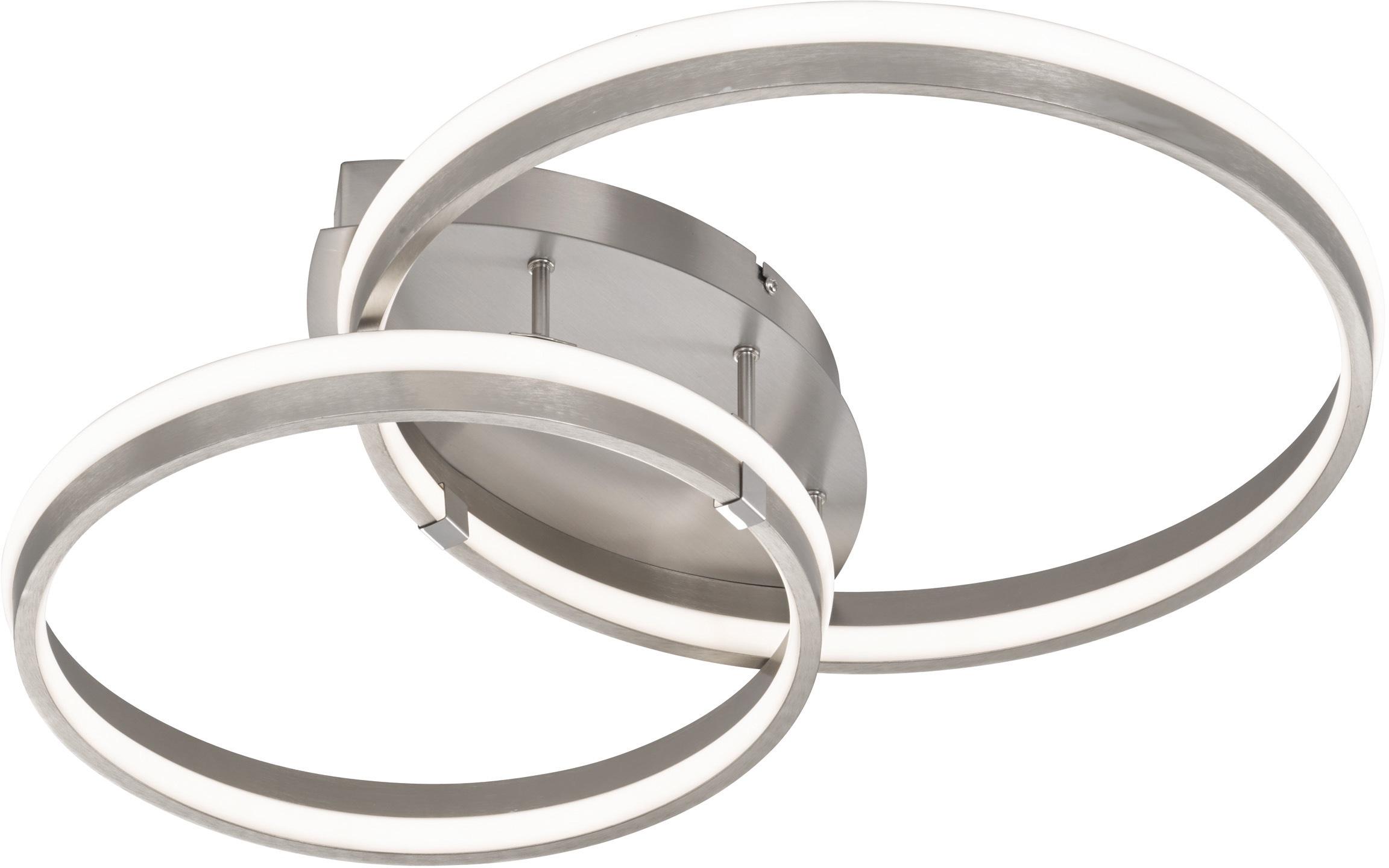 FISCHER & HONSEL LED Deckenleuchte Nomade, LED-Modul, Warmweiß