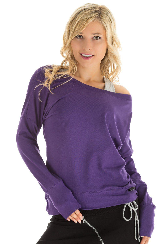 Winshape Oversize-Shirt Longsleeve WS2 | Bekleidung > Shirts > Oversize-Shirts | Lila | Winshape