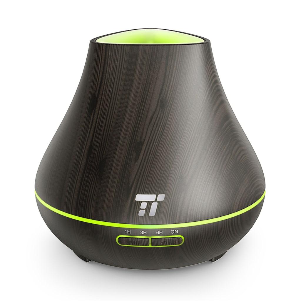 TaoTronics Diffuser »TT-AD004 dark«, 0.4 l Wassertank, 400 ml, LED-Beleuchtung