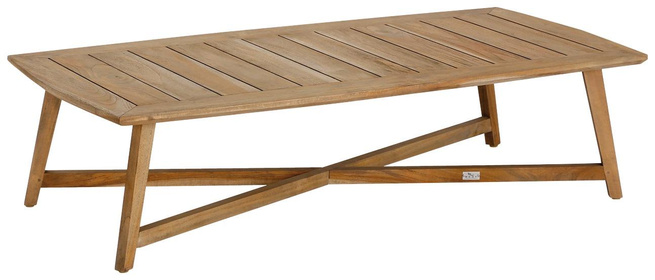BEST Gartentisch Paterna Teakholz 140x70 cm