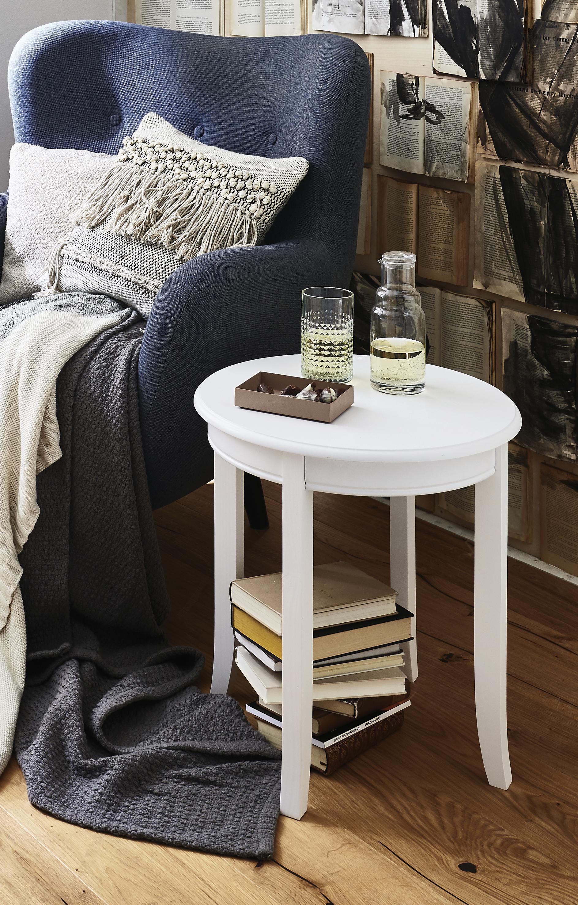 HAKU Beistelltisch Wohnen/Räume/Wohnzimmer/Couchtische & Beistelltische/Beistelltische