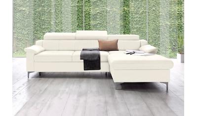 exxpo - sofa fashion Ecksofa, mit Kopf- bzw. Rückenverstellung kaufen