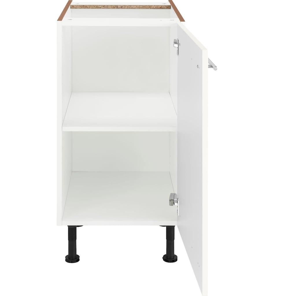 OPTIFIT Unterschrank »Bern«, 40 cm breit, mit 1 Tür mit höhenverstellbaren Füßen, mit Metallgriff