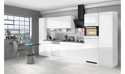 HELD MÖBEL Küchenzeile »Virginia«, mit E - Geräten, Breite 390 cm kaufen