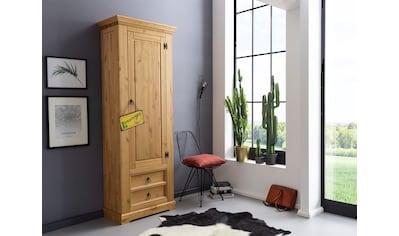 Premium collection by Home affaire Garderobenschrank »Brasilia«, aus Massivholz kaufen