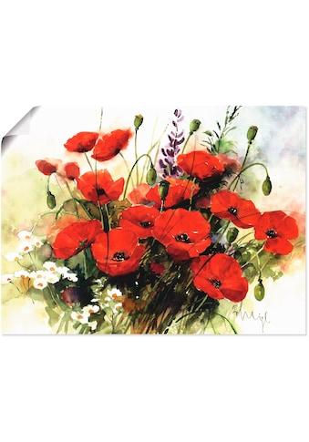 Artland Wandbild »Blumen Zusammenstellung III«, Blumen, (1 St.), in vielen Größen &... kaufen