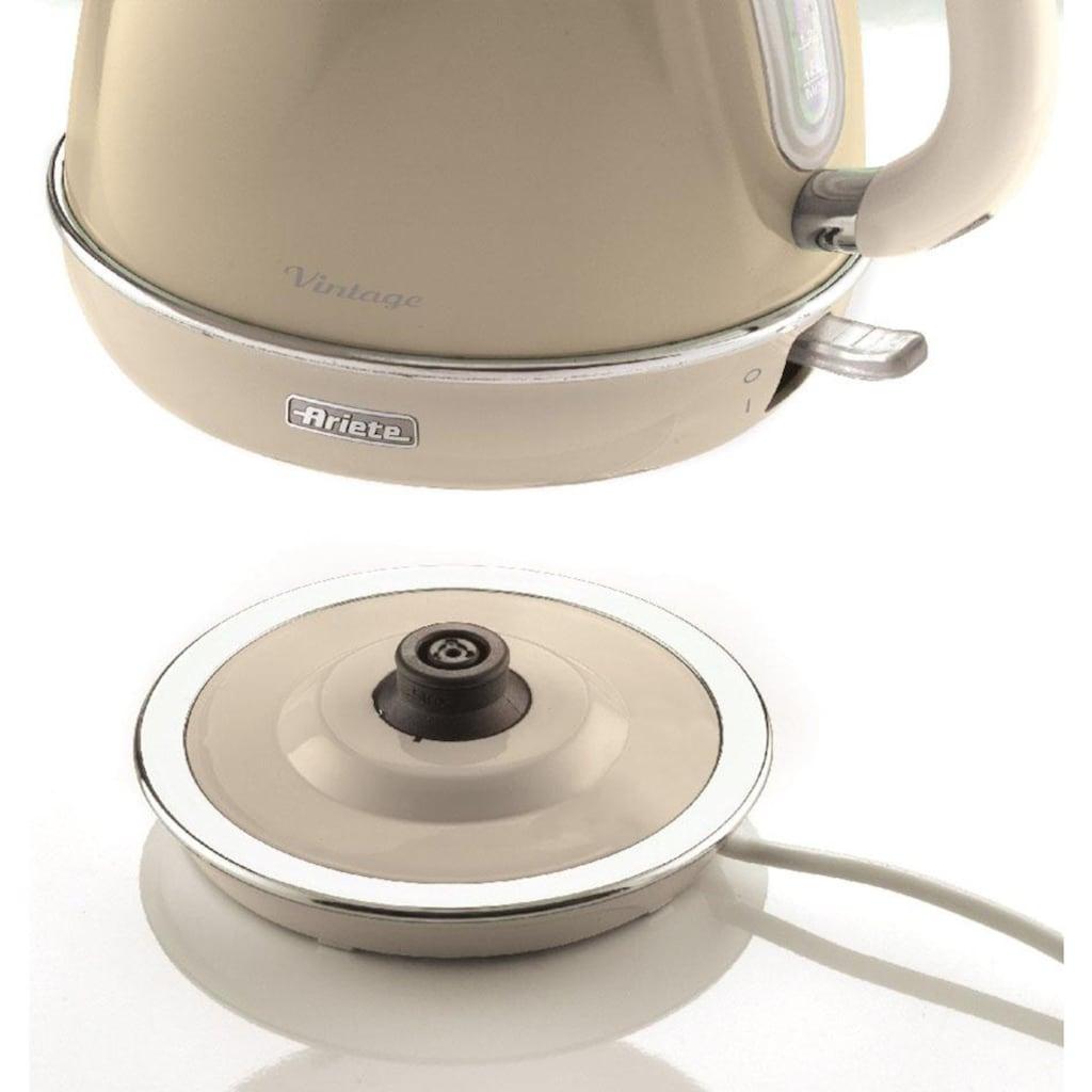 Ariete Wasserkocher »2869 CR Vintage«, 1,7 l, 2200 W