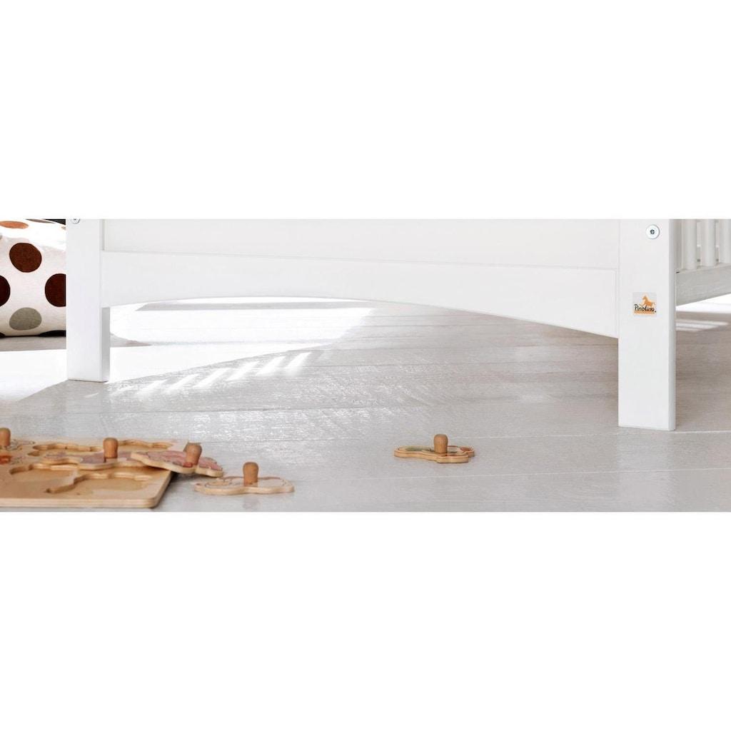 Pinolino® Babyzimmer-Komplettset »Florentina«, (Set, 4 St.), extrabreit groß mit Regalaufsatz; Made in Europe