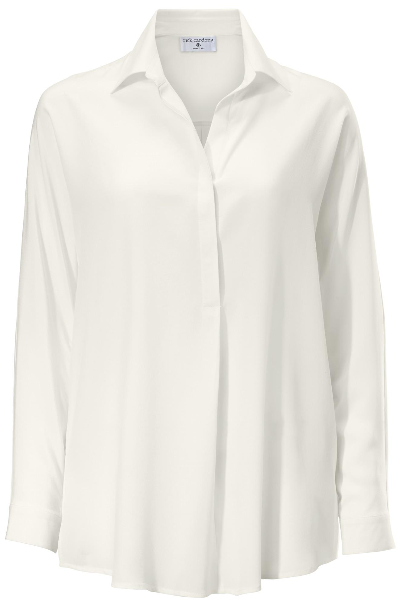 heine STYLE Oversized Bluse aus Seide