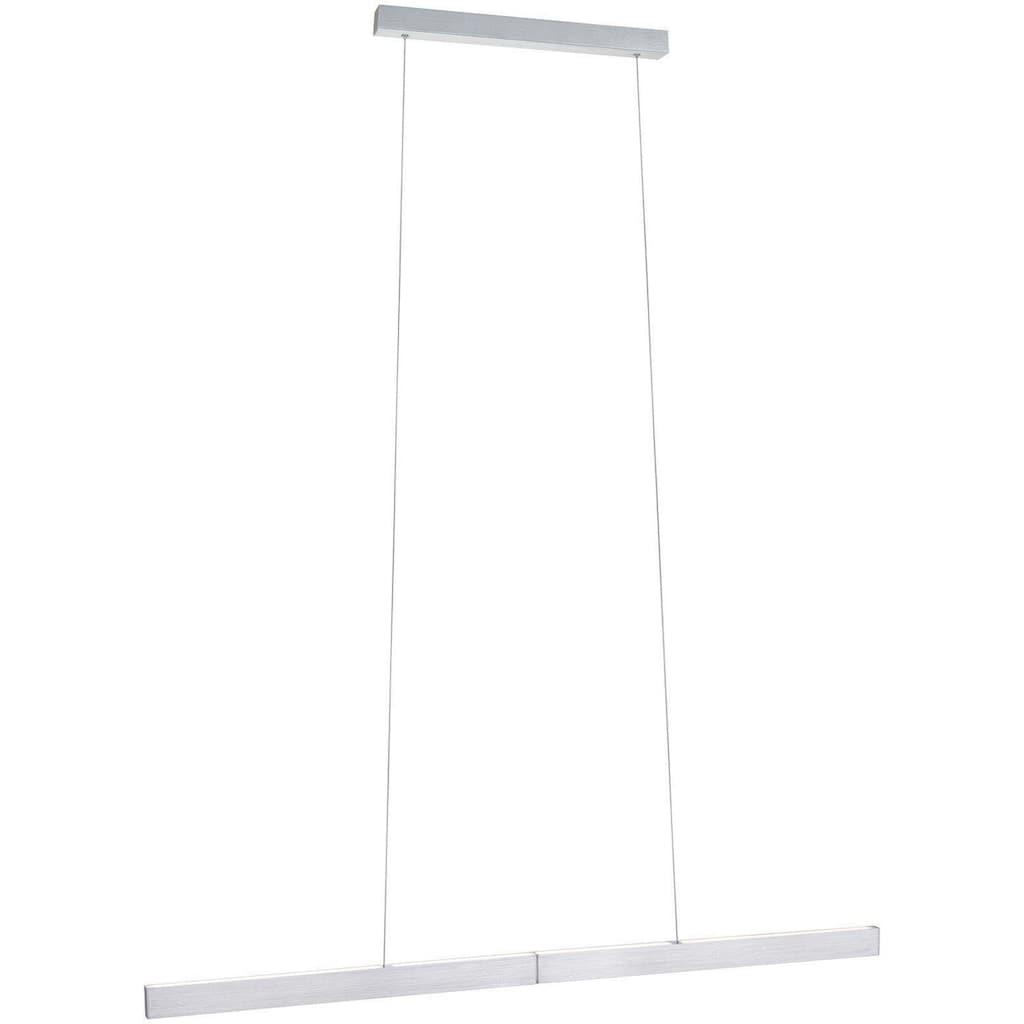 Paulmann LED Pendelleuchte »Aptare ZigBee Pendelleuchte dimmbar Alu gebürstet 1x18W«, Warmweiß, dimmbar