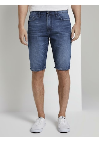TOM TAILOR Slim-fit-Jeans »Josh Regular Slim Jeans-Shorts in Vintage-Waschung« kaufen
