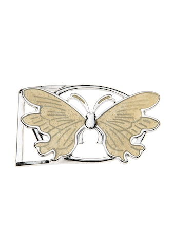CASSANDRA Gürtelschnalle, im femininen Schmetterlingsdesign kaufen