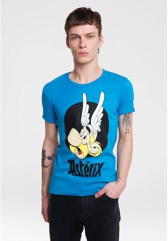 LOGOSHIRT T-Shirt »Asterix«, mit witzigem Vintage-Print kaufen