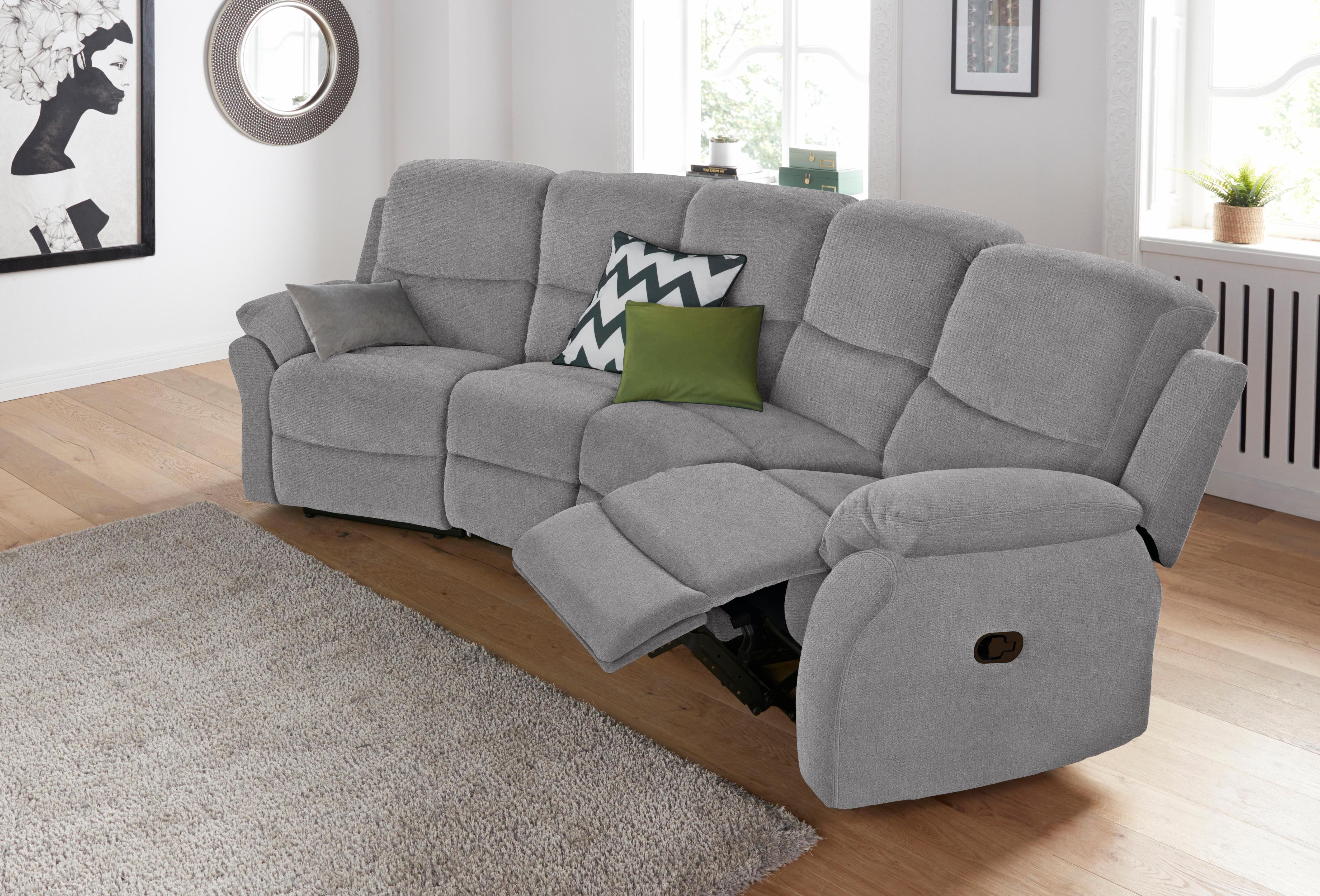 Big-Sofa, mit Reclinerfunktion