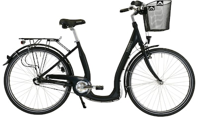 HAWK Bikes Cityrad »HAWK City Comfort Premium Plus Black«, 3 Gang Shimano Nexus Schaltwerk kaufen