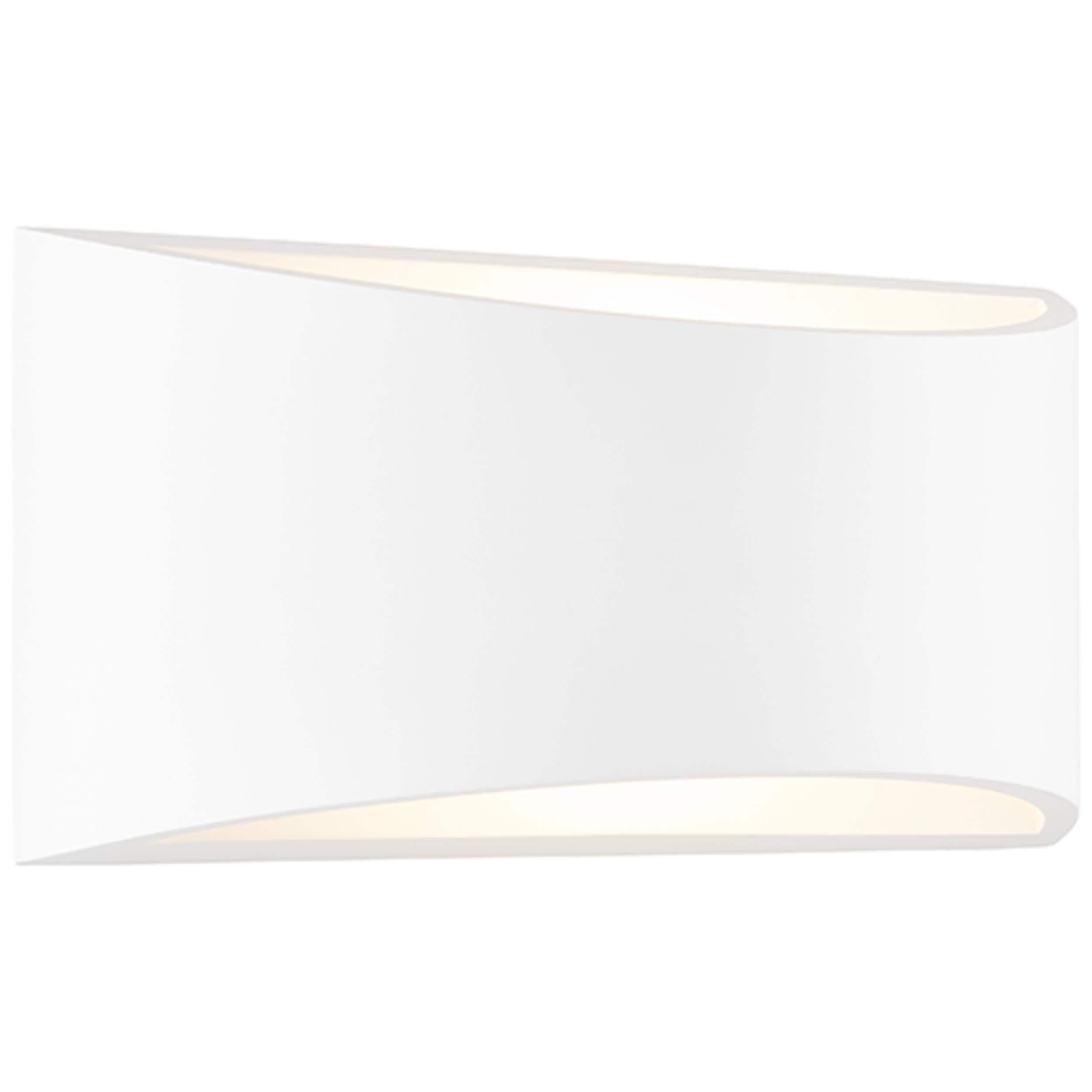 Brilliant Leuchten Wandleuchte, E14, Murnia Wandleuchte 30cm weiß