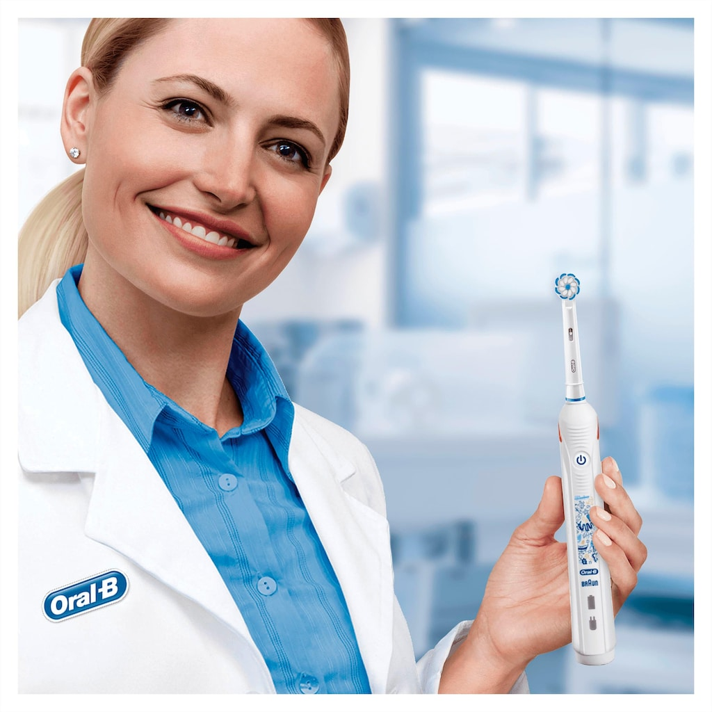 Oral B Elektrische Zahnbürste »Junior Smart«, 1 St. Aufsteckbürsten