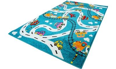 Kinderteppich, »Moda Kids 1511«, Carpet City, rechteckig, Höhe 11 mm, maschinell gewebt kaufen