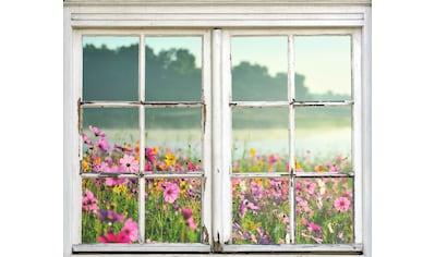 queence Wandsticker »Blumenwiese« kaufen
