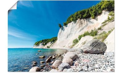 Artland Wandbild »Kreidefelsen auf der Insel Rügen 2«, Küste, (1 St.), in vielen... kaufen