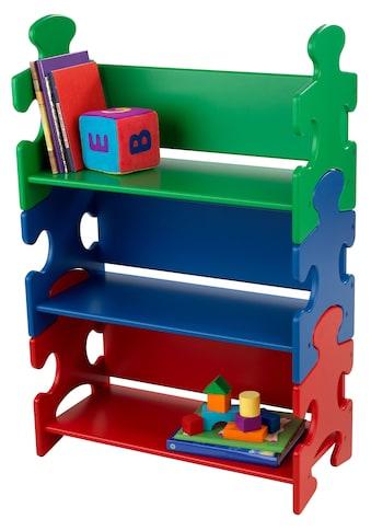 """KidKraft® Bücherregal """"Puzzle  -  Primary"""" kaufen"""