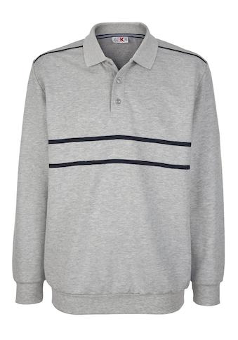 Roger Kent Sweatshirt, mit Kontrastverarbeitung kaufen
