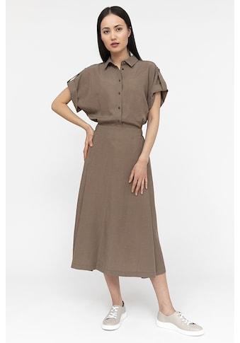 Finn Flare Jerseykleid, mit Hemdkragen kaufen