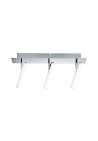 Paulmann LED Deckenleuchte »3er-Spot Chrom Silberfarben Pole 3x4,2W«, 1 St., Warmweiß kaufen