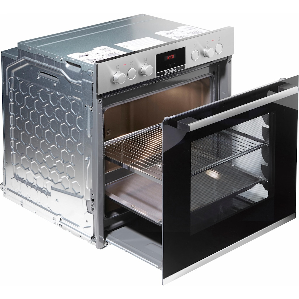 BOSCH Elektro-Herd-Set »HND411VS65«, mit 3D-Heißluft
