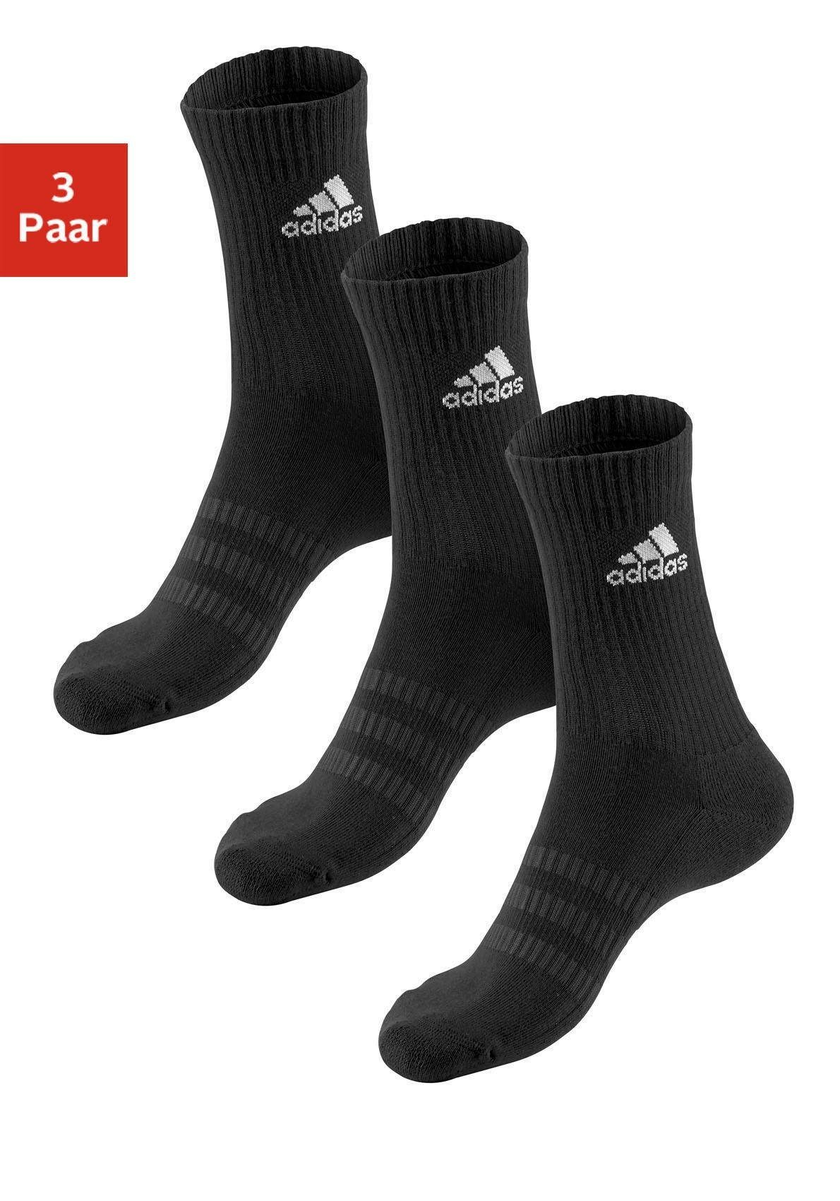adidas Performance Tennissocken (3 Paar) Damenmode/Wäsche & Bademode/Damenwäsche/Socken/Sportsocken/Tennissocken