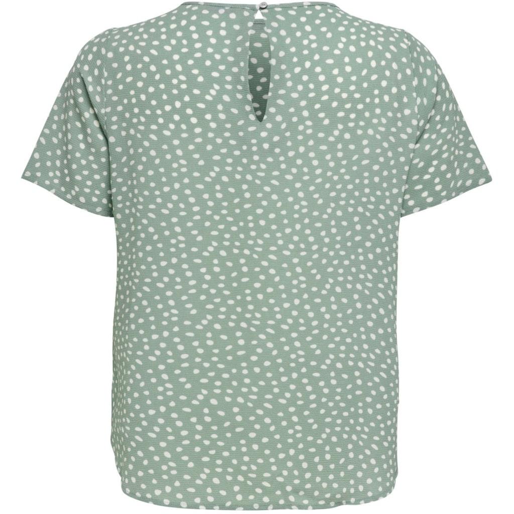 ONLY CARMAKOMA Klassische Bluse, mit Knopfverschluss am Rücken