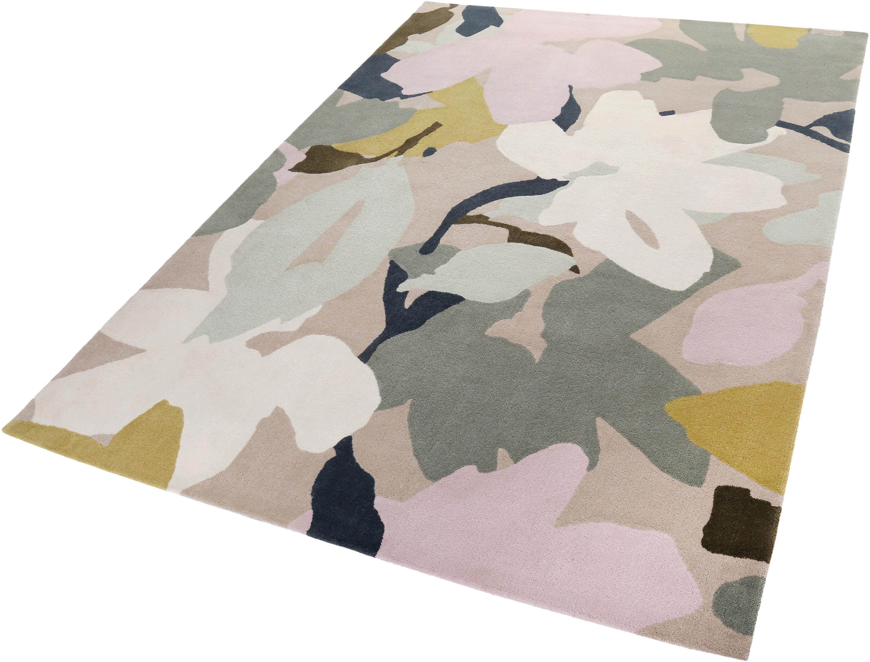 Teppich Bloom Esprit rechteckig Höhe 12 mm handgetuftet