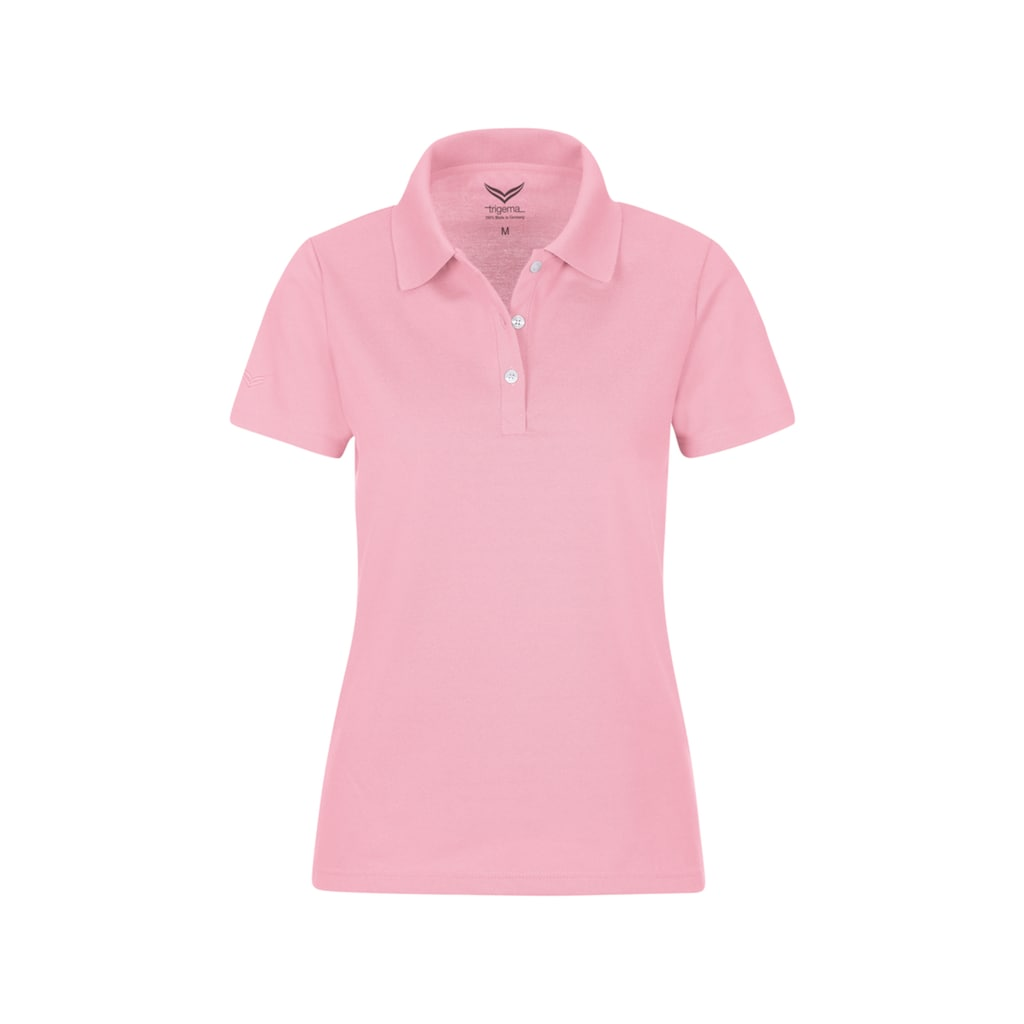 Trigema Poloshirt aus Baumwolle