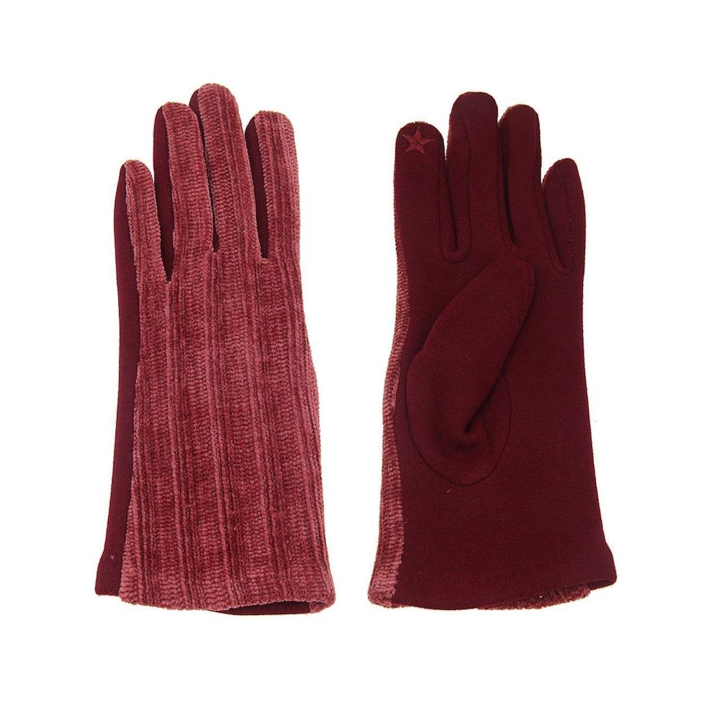 leslii Fingerhandschuhe mit praktischer Touchscreen-Funktion